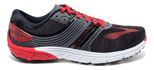 Mens Brooks  PureCadence 6 Running Shoe - Black/Anthracite 12