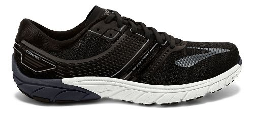 Mens Brooks  PureCadence 6 Running Shoe - Black/Silver 11.5