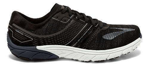 Mens Brooks  PureCadence 6 Running Shoe - Black/Silver 7.5