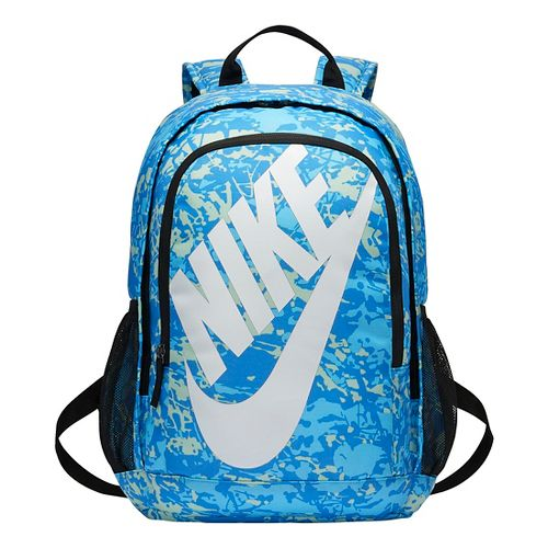 Nike Hayward Futura 2.0 Printed Backpack Bags - Light Photo Blue