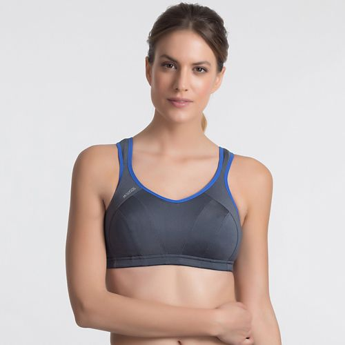 Womens Shock Absorber Active Multi Support Sports Bras - Dark Grey 30G