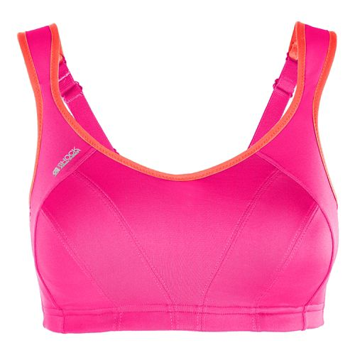 Womens Shock Absorber Active Multi Support Sports Bras - Pink/Coral 36D