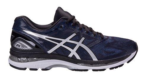 Mens ASICS GEL-Nimbus 19 Exclusive Running Shoe - Navy/Black 9.5