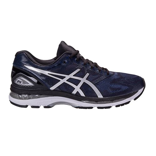 Mens ASICS GEL-Nimbus 19 Exclusive Running Shoe - Navy/Black 9.5