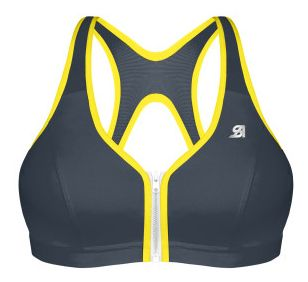 Shock Absorber Active Zipped Plunge Sports Bra