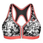 Womens Shock Absorber Active Zipped Plunge Sports Bras