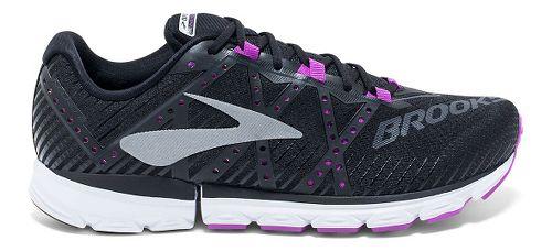 Womens Brooks Neuro 2 Running Shoe - Black/Purple 11
