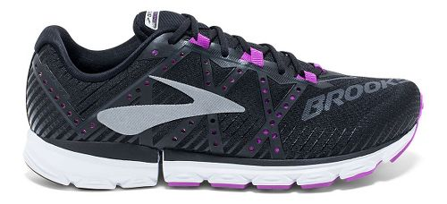 Womens Brooks Neuro 2 Running Shoe - Black/Purple 8.5
