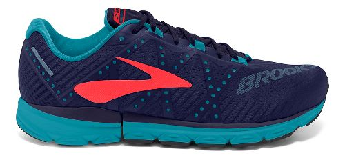 Womens Brooks Neuro 2 Running Shoe - Blue/Coral 9.5