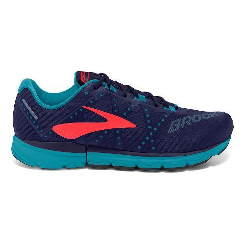 Womens Brooks Neuro 2 Running Shoe - Blue/Coral 11