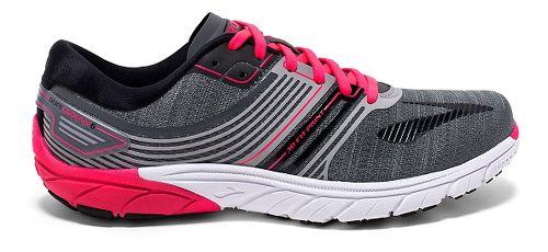 Womens Brooks  PureCadence 6 Running Shoe - Castle Rock/Black 9