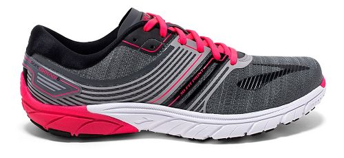 Womens Brooks  PureCadence 6 Running Shoe - Castle Rock/Black 9.5