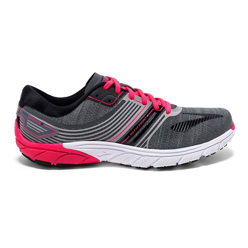 Womens Brooks PureCadence 6 Running Shoe - Castle Rock/Black 8.5