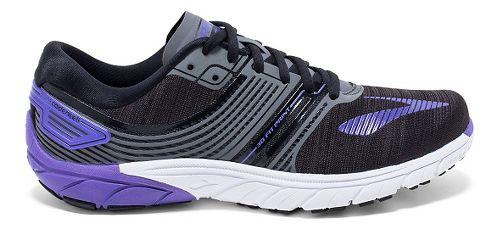 Womens Brooks  PureCadence 6 Running Shoe - Black/Anthracite 11