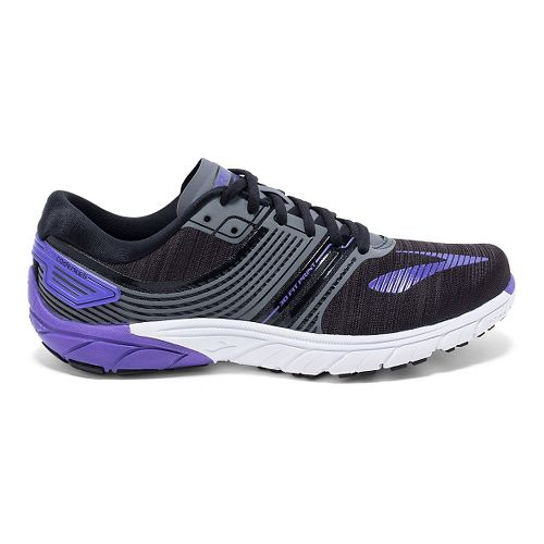 Womens Brooks PureCadence 6 Running Shoe - Black/Anthracite 8.5