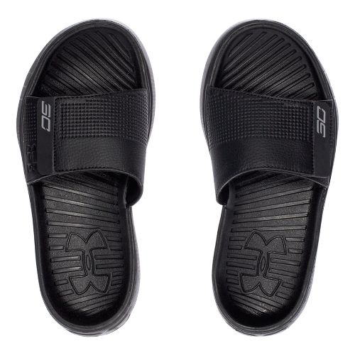 Under Armour Curry III SL Sandals Shoe - Black 4Y