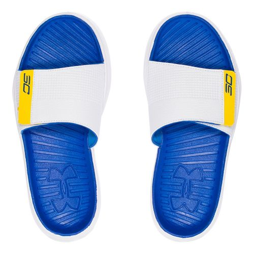 Under Armour Curry III SL Sandals Shoe - White 5Y
