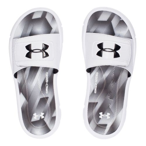 Under Armour Ignite Sandstorm SL Sandals Shoe - White 1Y