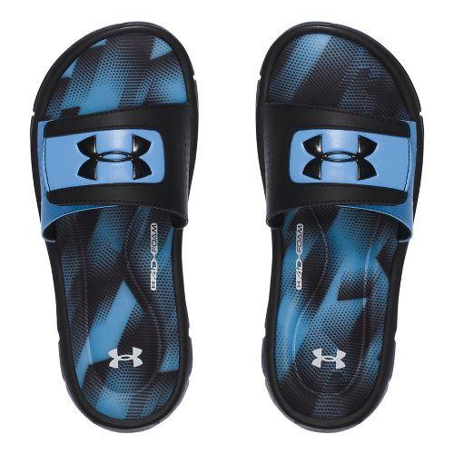 Under Armour Ignite Sandstorm SL Sandals Shoe - Carolina Blue 2Y