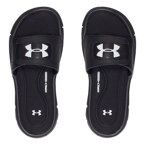Under Armour Ignite V SL Sandals Shoe - Black 2Y
