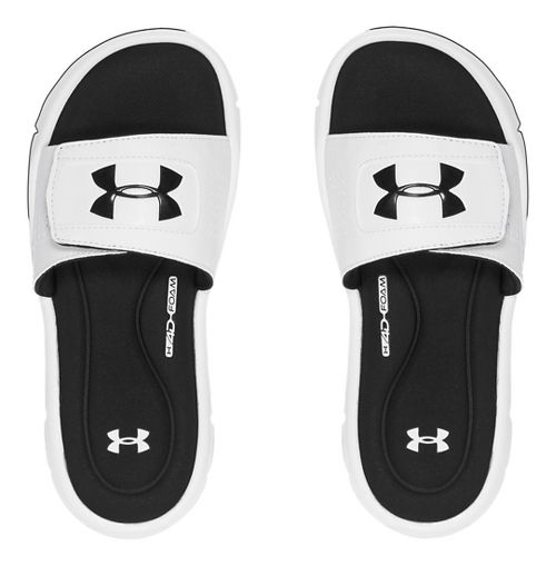 Under Armour Ignite V SL Sandals Shoe - White 5Y