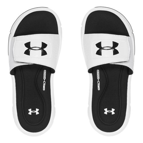 Under Armour Ignite V SL Sandals Shoe - White 7Y