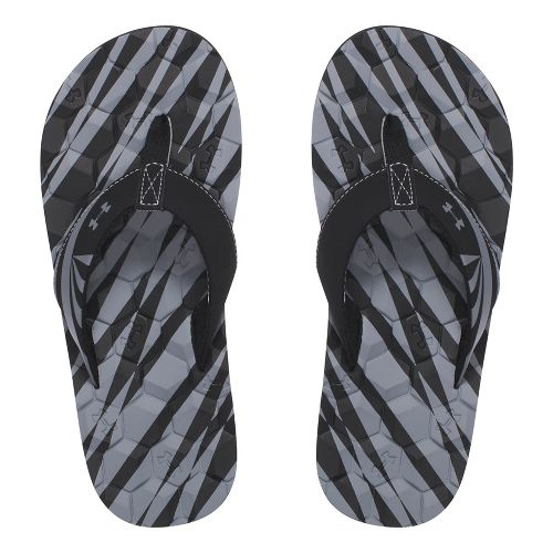 Under Armour Marathon Key II T Sandals Shoe - Black 2Y