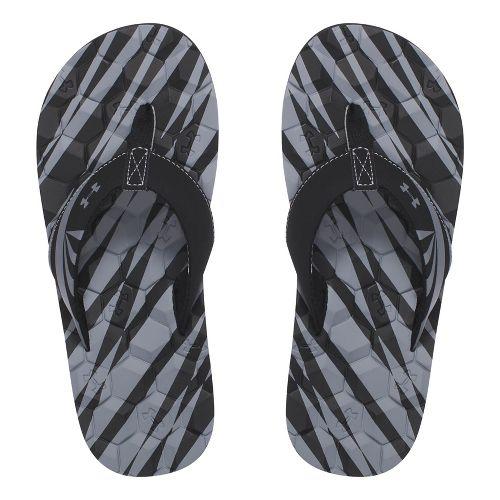 Under Armour Marathon Key II T Sandals Shoe - Black 5Y