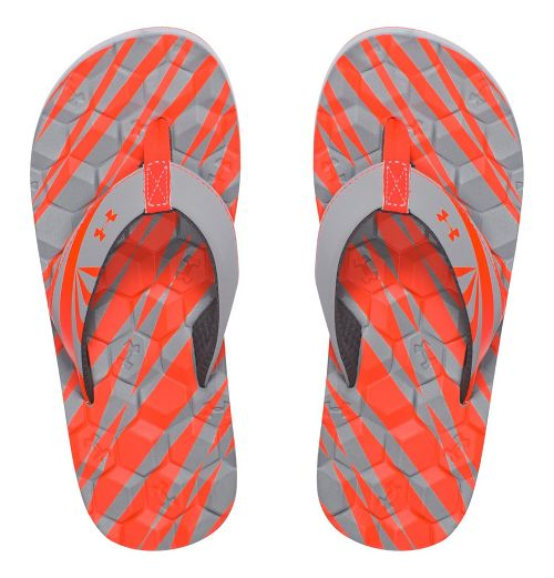 Under Armour Marathon Key II T Sandals Shoe - Rhino Grey 1Y