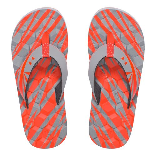 Under Armour Marathon Key II T Sandals Shoe - Rhino Grey 2Y