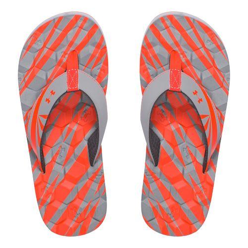 Under Armour Marathon Key II T Sandals Shoe - Rhino Grey 3Y