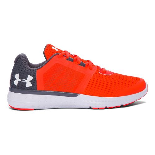 Under Armour Micro G Fuel RN  Running Shoe - Phoenix Fire 4.5Y