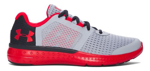 Under Armour Micro G Fuel RN  Running Shoe - Overcast Grey 4Y