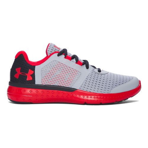 Under Armour Micro G Fuel RN  Running Shoe - Overcast Grey 3.5Y