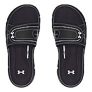 Womens Under Armour Ignite Vlll SL Sandals Shoe - Black 6
