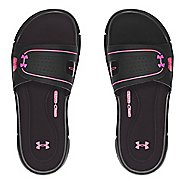 Womens Under Armour Ignite Vlll SL Sandals Shoe - Black/Pink 12