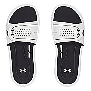 Womens Under Armour Ignite Vlll SL Sandals Shoe - White 6