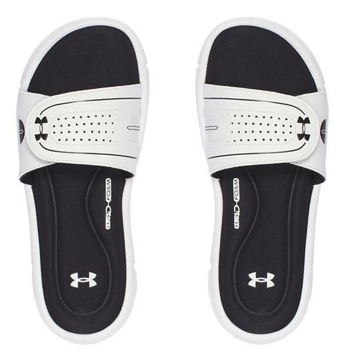 Womens Under Armour Ignite Vlll SL Sandals Shoe - White 8