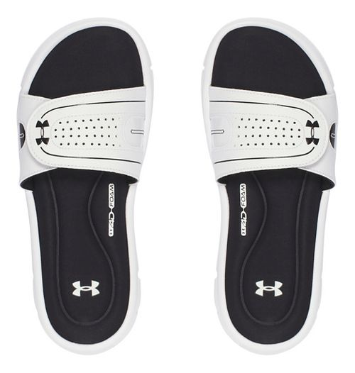 Womens Under Armour Ignite Vlll SL Sandals Shoe - White 9