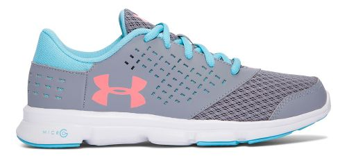 Under Armour Micro G Rave RN  Running Shoe - Steel 4Y