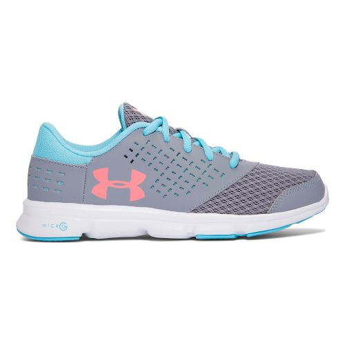 Under Armour Micro G Rave RN  Running Shoe - Steel 6.5Y