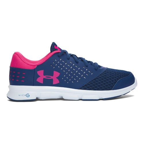 Under Armour Micro G Rave RN  Running Shoe - Blackout Navy 7Y