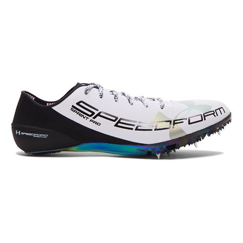 Under Armour Speedform Sprint Pro Track and Field Shoe - White 10.5