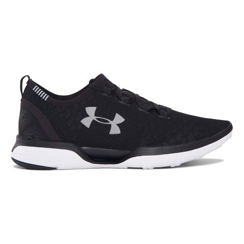 Mens Under Armour Charged CoolSwitch Running Shoe - Black 10.5