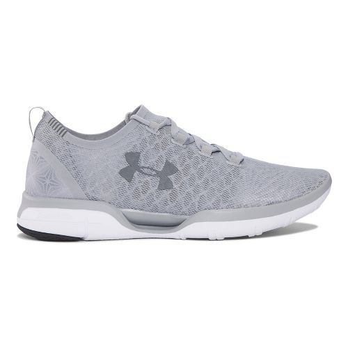 Mens Under Armour Charged CoolSwitch Running Shoe - Overcast Grey 10.5