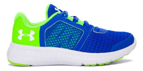 Under Armour Micro G Fuel RN  Running Shoe - Ultra Blue/Green 11C