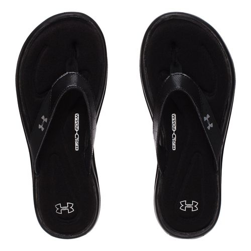 Womens Under Armour Marbella V T Sandals Shoe - Black 12