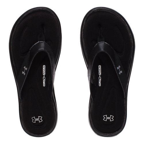 Womens Under Armour Marbella V T Sandals Shoe - Black 8