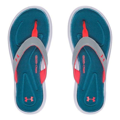 Womens Under Armour Marbella V T Sandals Shoe - Marlin Blue 10