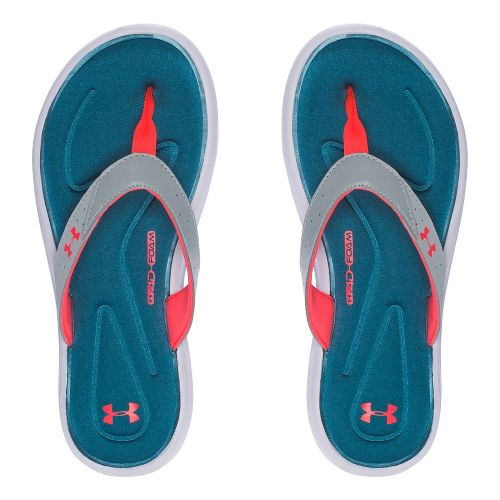 Womens Under Armour Marbella V T Sandals Shoe - Marlin Blue 9